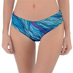 Abstract Nature 6 Reversible Classic Bikini Bottoms