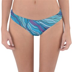 Abstract Nature 6 Reversible Hipster Bikini Bottoms