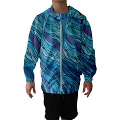 Abstract Nature 6 Hooded Wind Breaker (kids)