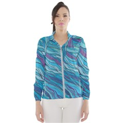 Abstract Nature 6 Wind Breaker (women)
