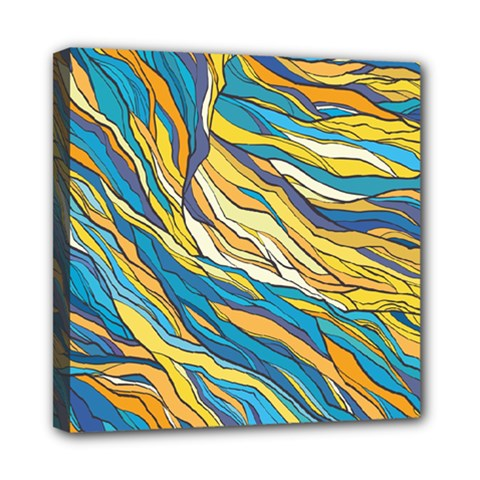 Abstract Nature 7 Mini Canvas 8  X 8  by tarastyle