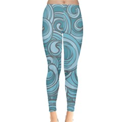 Abstract Nature 8 Leggings  by tarastyle