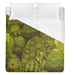 Abstract Nature 11 Duvet Cover (queen Size) by tarastyle
