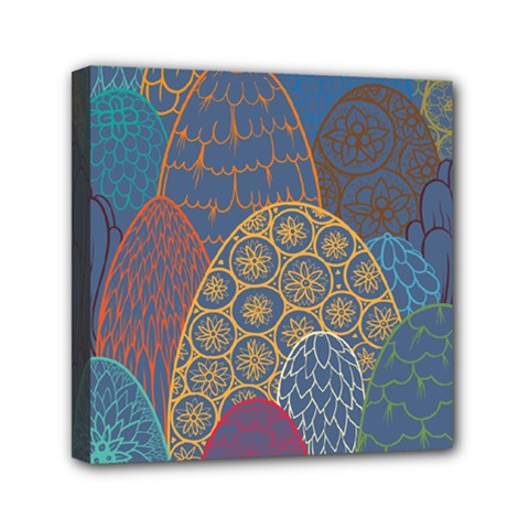 Abstract Nature 13 Mini Canvas 6  X 6  by tarastyle
