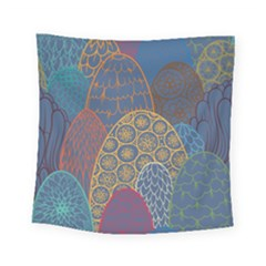 Abstract Nature 13 Square Tapestry (small) by tarastyle