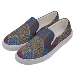 Abstract Nature 13 Men s Canvas Slip Ons by tarastyle