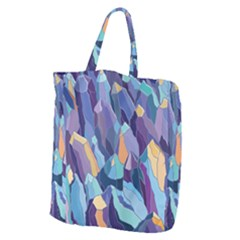 Abstract Nature 15 Giant Grocery Zipper Tote