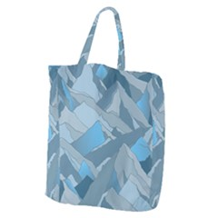 Abstract Nature 16 Giant Grocery Zipper Tote