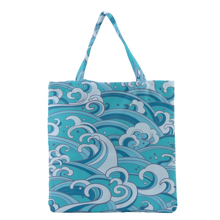 Abstract Nature 20 Grocery Tote Bag