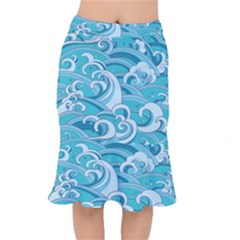 Abstract Nature 20 Mermaid Skirt