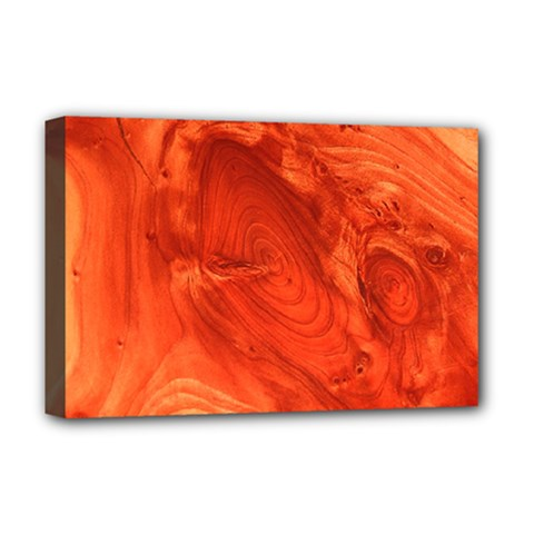 Fantastic Wood Grain 917a Deluxe Canvas 18  X 12   by MoreColorsinLife
