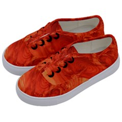 Fantastic Wood Grain 917a Kids  Classic Low Top Sneakers by MoreColorsinLife