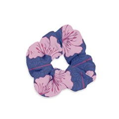 Beautiful Art Nouvea Floral Pattern Velvet Scrunchie by 8fugoso