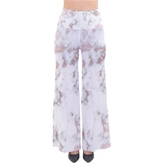 Pure And Beautiful White Marple And Rose Gold, Beautiful ,white Marple, Rose Gold,elegnat,chic,modern,decorative, Pants