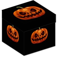 Halloween Pumpkin Storage Stool 12