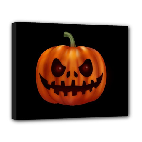 Halloween Pumpkin Deluxe Canvas 20  X 16