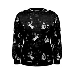 Christmas Pattern Women s Sweatshirt by Valentinaart