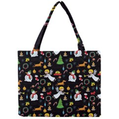 Christmas Pattern Mini Tote Bag by Valentinaart