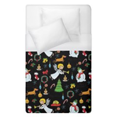 Christmas Pattern Duvet Cover (single Size)