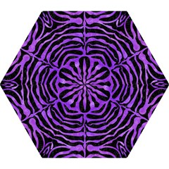 Skin2 Black Marble & Purple Watercolor (r) Mini Folding Umbrellas by trendistuff