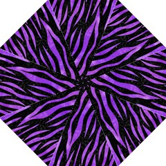 Skin3 Black Marble & Purple Watercolor (r) Folding Umbrellas by trendistuff
