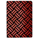 WOVEN2 BLACK MARBLE & RED BRUSHED METAL (R) Apple iPad Pro 12.9   Flip Case View1