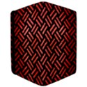 WOVEN2 BLACK MARBLE & RED BRUSHED METAL (R) Apple iPad Pro 12.9   Flip Case View3
