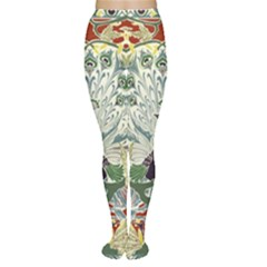 Art Nouveau Peacock Women s Tights by 8fugoso