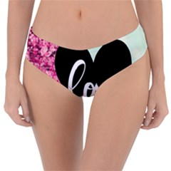 Modern Collage Shabby Chic Reversible Classic Bikini Bottoms by 8fugoso