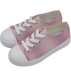 Beautiful,rose Gold,pattern Kids  Low Top Canvas Sneakers by 8fugoso
