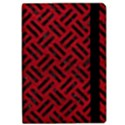 WOVEN2 BLACK MARBLE & RED LEATHER Apple iPad Pro 12.9   Flip Case View2