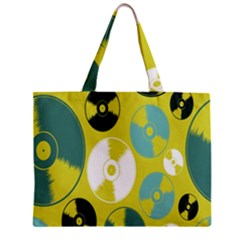 Streaming Forces Music Disc Zipper Mini Tote Bag by Alisyart