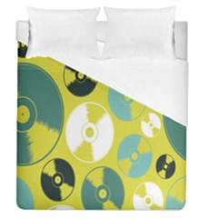 Streaming Forces Music Disc Duvet Cover (queen Size)