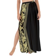 Art Nouvea Antigue Maxi Chiffon Tie Up Sarong by 8fugoso