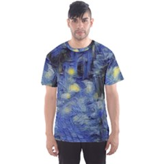 Van Gogh Inspired Men s Sports Mesh Tee by 8fugoso