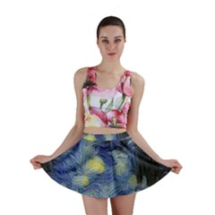 Van Gogh Inspired Mini Skirt by 8fugoso