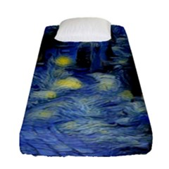 Van Gogh Inspired Fitted Sheet (single Size) by 8fugoso