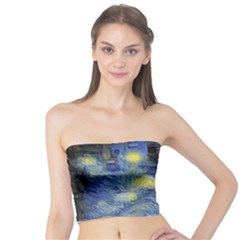 Van Gogh Inspired Tube Top by 8fugoso