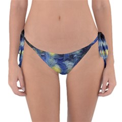 Van Gogh Inspired Reversible Bikini Bottom by 8fugoso