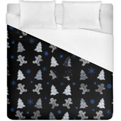Ginger Cookies Christmas Pattern Duvet Cover (king Size)