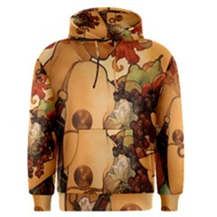 Alfons Mucha   Fruit Men s Pullover Hoodie by 8fugoso