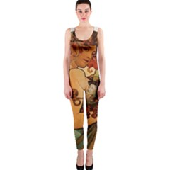 Alfons Mucha   Fruit Onepiece Catsuit by 8fugoso