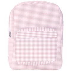 Red Line Plaid Vertical Horizon Full Print Backpack