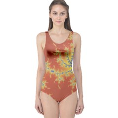 Fractals One Piece Swimsuit by 8fugoso