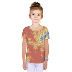 Fractals Kids  One Piece Tee by 8fugoso