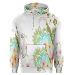 Wreaths Sexy Flower Star Leaf Rose Sunflower Bird Summer Men s Pullover Hoodie