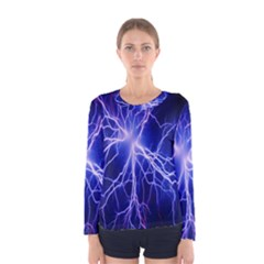 Blue Sky Light Space Women s Long Sleeve Tee by Mariart