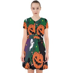 Happy Halloween Adorable In Chiffon Dress by Mariart