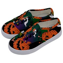 Happy Halloween Kids  Classic Low Top Sneakers by Mariart