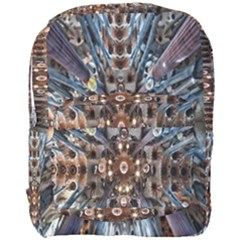 Iron Glass Space Light Full Print Backpack by Mariart